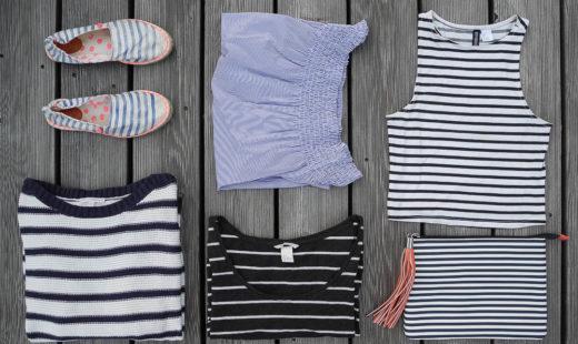 Was trägt man an einem faulen Sommertag? – Streifen!