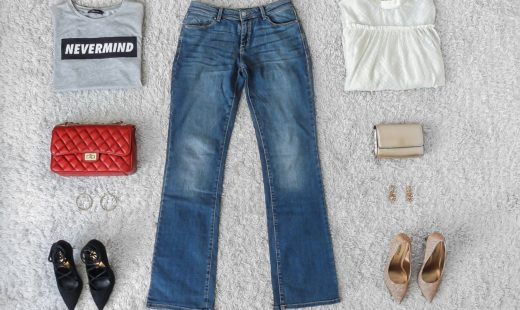 Jeans are a girl's best friend