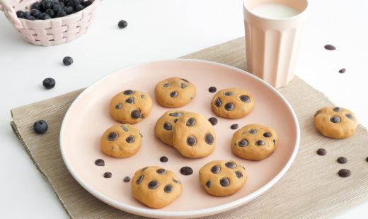 Gesunder No-Bake Cookie-Teig